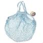 Siatkowa torba na zakupy, niebieska, rex london - niebieski