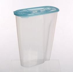 Pojemnik na przyprawy i artykuły sypkie: mąkę, płatki lub makaron tontarelli nuvola dispenser 2 l niebieski