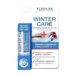 Floslek winter care pomadka z filtrem uv spf14 na zimę