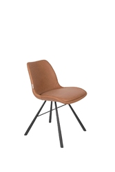 Zuiver krzesło brent air brązowe 1100412