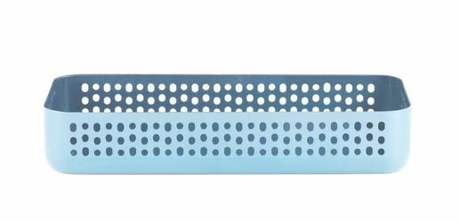 Pojemnik na akcesoria Nic Nac prostokątny niebieski