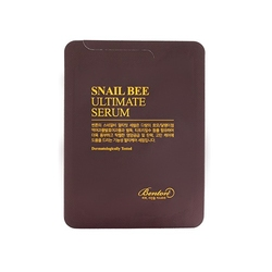 Benton rewitalizujące serum z fermentowanym filtratem ze śluzu ślimaka snail bee ultimate serum 1,2g tester