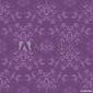 Naklejka samoprzylepna piękna bezszwowa purpurowa tapeta