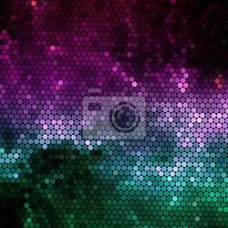 Naklejka nebular mozaika wektorowe