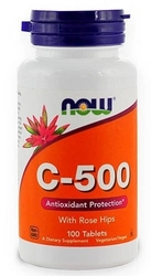 Vitamin c-500 rose hips x 100 tabletek