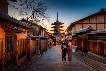 Fototapeta na ścianę japońska uliczka fp 3262