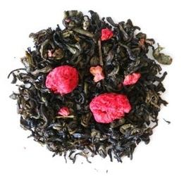 Herbata zielona o smaku malinowe marzenie 150g