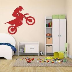 Motocyklista motocross szablon do malowania 2315