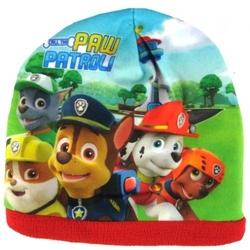 Czapka psi patrol czerwona 4-6 lat