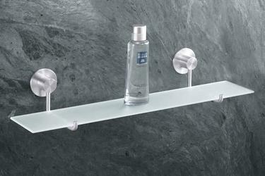 Półka łazienkowa szklana Marino
