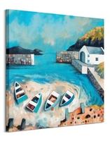 Ballintoy harbour - obraz na płótnie