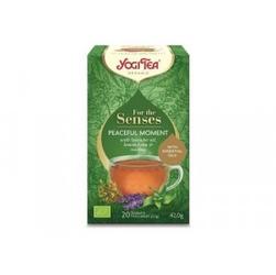 Herbata chwila spokoju peaceful moment bio 20 saszetek yogi tea
