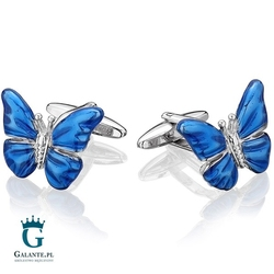 Spinki do mankietów motyle sd-1398
