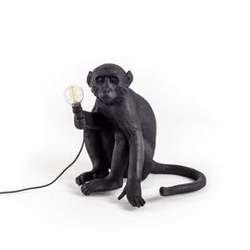 Seletti :: lampa stołowa monkey sitting outdoor