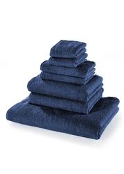 Komplet ręczników 7 części bonprix granatowy