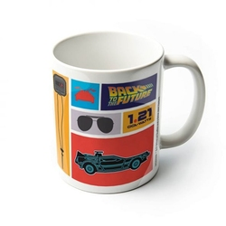 Back to the future collection - kubek