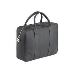 Duża torba biznesowa na ramię czarna sempretus