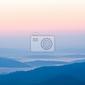 Fototapeta mglisty krajobraz w bieszczadach, polska, europa
