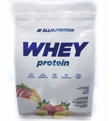 Allnutrition - whey protein strawberry  banana - 908 g