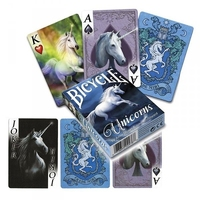 Jednorożce quot;unicornsquot; - klasyczne karty do gry projektu anne stokes