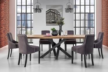 Stół z dębowym blatem senso