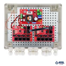 SWITCH ZEWNĘTRZNY 10-PORTOWY POE ATTE IP-9-11-L2 - Szybka dostawa lub możliwość odbioru w 39 miastach
