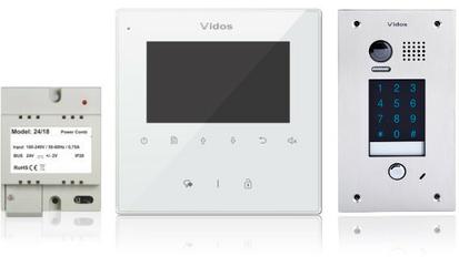 Wideodomofon VIDOS DUO M1022W  S1401D - Szybka dostawa lub możliwość odbioru w 39 miastach