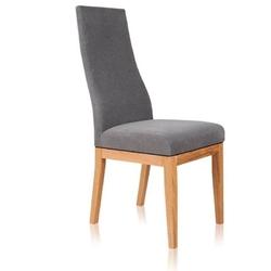 Chiara krzesło bukowe tapicerowane w nowoczesnym stylu