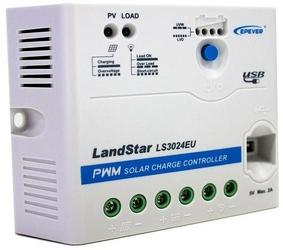 Regulator solarny ładowania epever ls3024eu 30a usb - szybka dostawa lub możliwość odbioru w 39 miastach