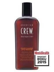 American crew power cleanser -męski szampon do usuwania trudnych pomad 1000ml