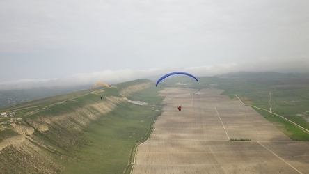 Lot paralotnią - bielsko-biała