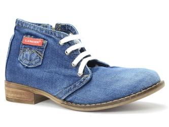 Botki  lanqier 42c224  jeans