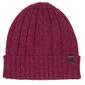 Ciepła czapka profuomo w kolorze burgundowym