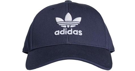 Adidas trefoil baseball cap dv0174 osfm granatowy