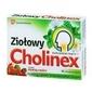 Cholinex ziołowy x 16 pastylek o smaku dzikiej róży