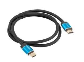 Lanberg kabel hdmi mm v2.0 1m pełna miedź czarny box premium certyfikat