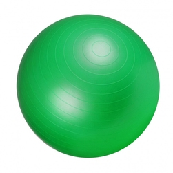 55cm piłka fitness gimnastyczna rehabilitacyjna gorilla sports zielona