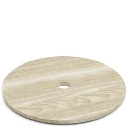 Drewniana pokrywa do kosza na bieliznę satone zack 40442