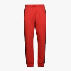 Spodnie dresowe męskie diadora pant trofeo - czerwony