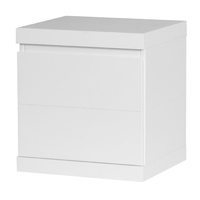 Lara biała szafka nocna