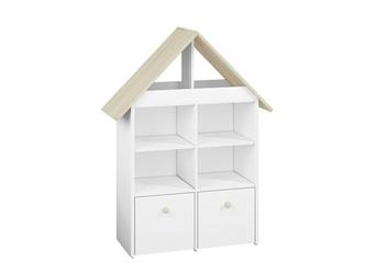 Regał otwarty w kształcie domku do pokoju dziecięcego z systemu elmo