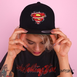 Czapka superman snapback