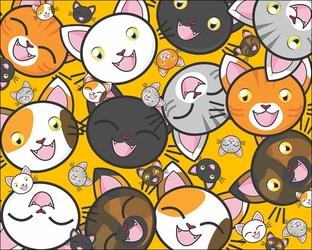 Kotki - plakat wymiar do wyboru: 40x30 cm