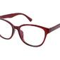 Owalne oprawki okularowe damskie brązowe st1201g