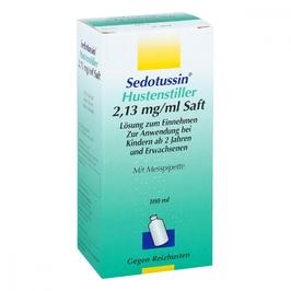 Sedotussin syrop przeciwkaszlowy
