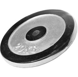 20 kg obciążenie stalowe chromowane na gryf 30 mm gorilla sports