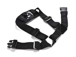 Szelki regulowane na ramię alogy do gopro kamery sportowej czarne