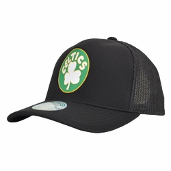 Czapka Mitchell  Ness NBA Boston Celtics Snapback Trucker - MN-HWC-INTL292-BOSCEL-BLK