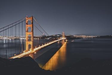 Fototapeta na ścianę most prowadzący do miasta fp 4326