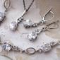 Helena - srebrny komplet z cyrkoniami